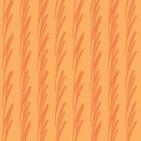 vector naadloze structuurpatroon als achtergrond. hand getrokken, oranje kleuren.