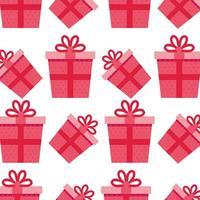achtergrond van geschenkdozen presenteert