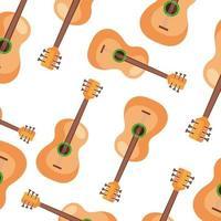 achtergrond van gitaren instrumenten musical vector