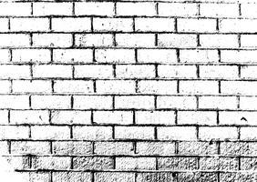 Grunge bakstenen muur textuur vector