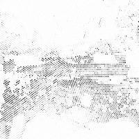 Abstracte halftone puntenachtergrond vector