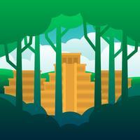 De verloren stad van goud illustratie vector