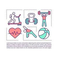 evenwicht opleiding concept pictogram met tekst