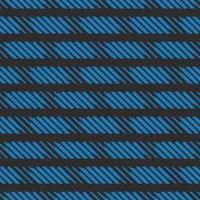 vector naadloze structuurpatroon als achtergrond. hand getrokken, zwarte, blauwe kleuren.