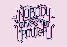 Internationale Vrouwendag Typografie Vector