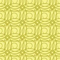 vector naadloze structuurpatroon als achtergrond. hand getrokken, gele, gouden kleuren.