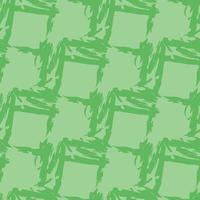 vector naadloze structuurpatroon als achtergrond. hand getrokken, groene kleuren.