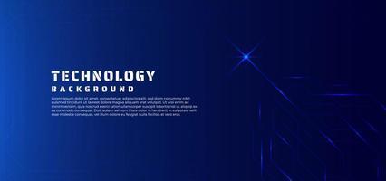 technologie achtergrond lijn gegevensstroom en gloed licht concept.