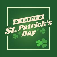 Gelukkige St. Patrick's Day Achtergrond