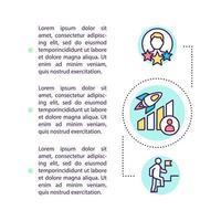 zelfverbetering concept pictogram met tekst