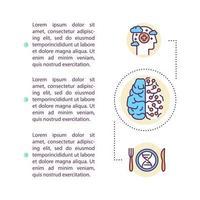 geest hacken concept pictogram met tekst