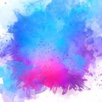 Geschilderde aquarel textuur vector