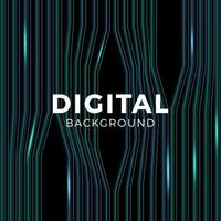 muziek of gegevens netwerk abstracte achtergrond blauw. technologie verbinding of equalizer. het tonen van geluidsgolven met muziekgolven