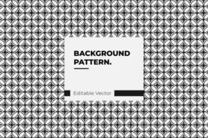 patroon op basis van Japans geometrisch ornament vector