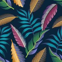 tropisch naadloos patroon.