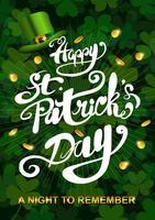 Gelukkige St Patricks Dagillustratie vector