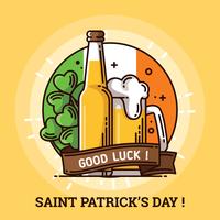 St Patricks Day Achtergrond vector