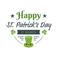 Gelukkige St. Patrick's Day Poster