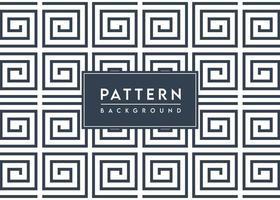 spiraalvormig vierkant patroon geweven vectorontwerp als achtergrond