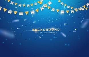 abstracte achtergrond. feest, feest of speciale verjaardagsachtergrond vector