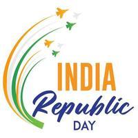 india republiek dag op 26 januari behang vector