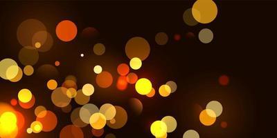abstract wazig lichtelement dat kan worden gebruikt voor de achtergrond van de dekkingsdecoratie bokeh