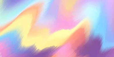 abstract kleurrijk vloeibaar gradiëntconcept als achtergrond voor uw grafisch ontwerp vector