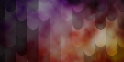lichtpaars, roze vectortextuur met lijnen.