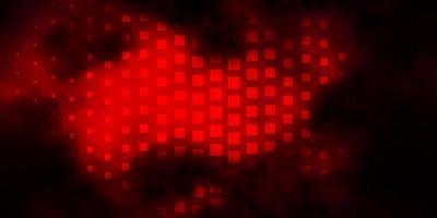 donkerroze vectorachtergrond met rechthoeken. vector