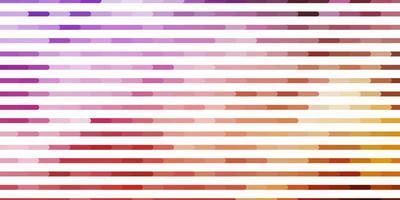 lichtpaars, roze vectorpatroon met lijnen.