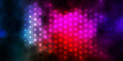donkere veelkleurige vectorachtergrond in veelhoekige stijl. vector