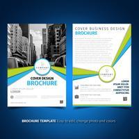 Brochure Flyer ontwerp vector