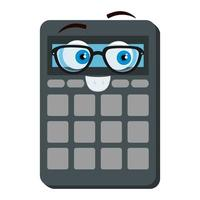 rekenmachine wiskunde kawaii komisch karakter