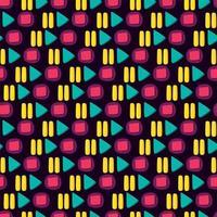 mediaspeler kleurrijke knop plat naadloze patroon vector
