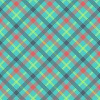 tartan multicolor naadloze vector patroon