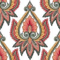 etnisch bloemenpatroon