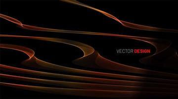 abstract vector achtergrond met vloeiende lijnen