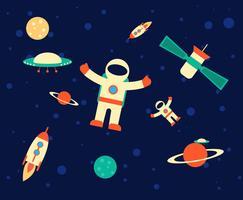 buitenste ruimte vector