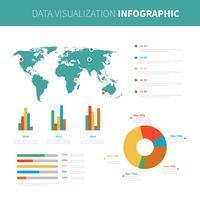 Iconische datavisualisatie Vectoren