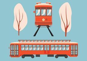 New Orleans Streetcar Vectorontwerp vector