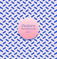 abstracte naadloze patroon streep chevron blauw en roze op witte achtergrond. vector