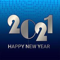 creatieve achtergrond voor een gelukkig nieuwjaar vector