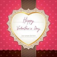 Valentijnsdag of bruiloft kaart ontwerp. vector illustratie.