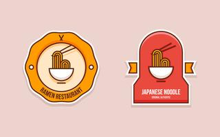 Unieke Ramen-badge Vectoren