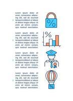 soorten hypotheek concept pictogram met tekst