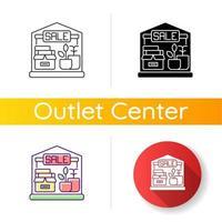garage verkoop pictogram