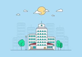stad leven concept