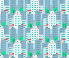 stad naadloze patroon
