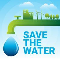 Wereld Water Dag Illustratie vector