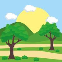 outdoor landschapsscène